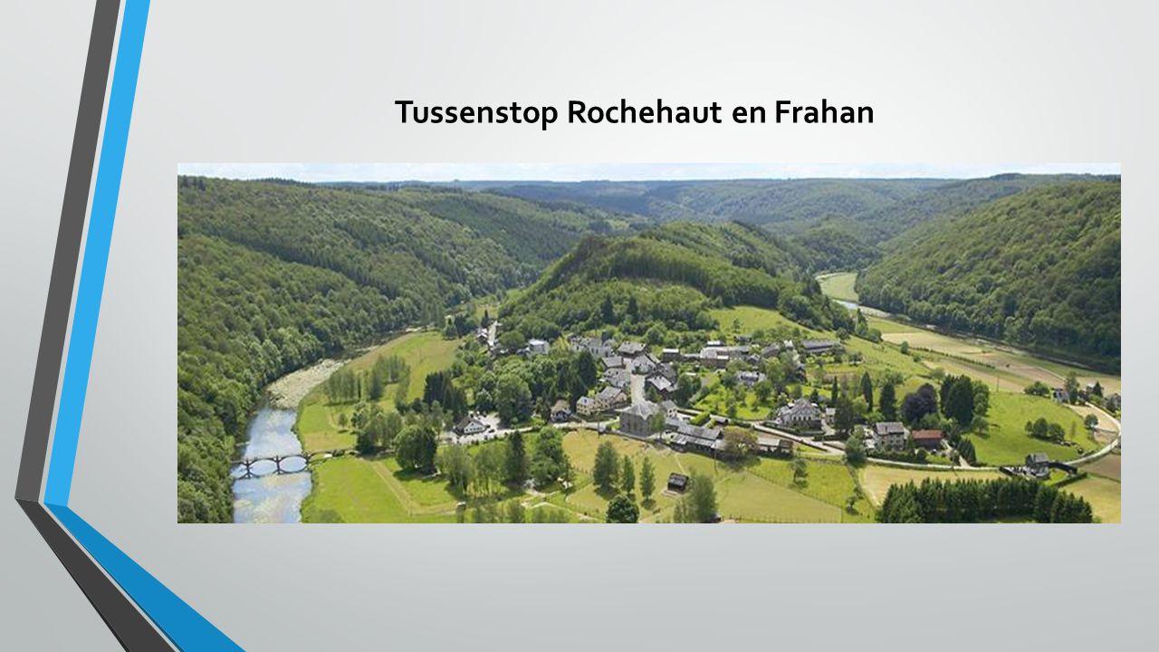 Tussenstop Rochehaut en Frahan