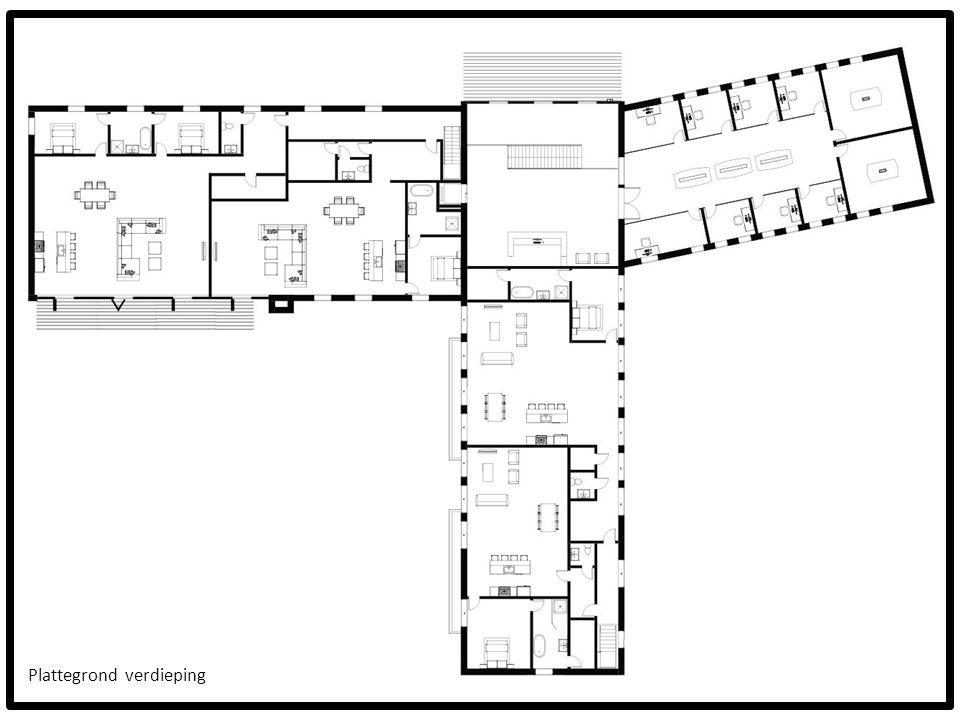 Plattegrond verdieping
