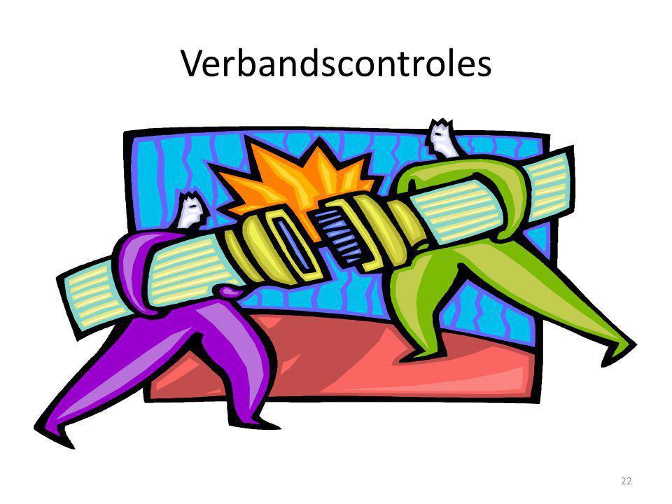 Verbandscontroles 22
