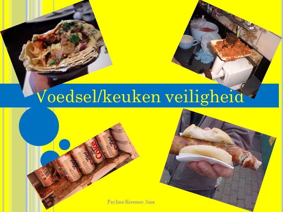 Voedsel/keuken veiligheid Fayline Kresmer 3ma