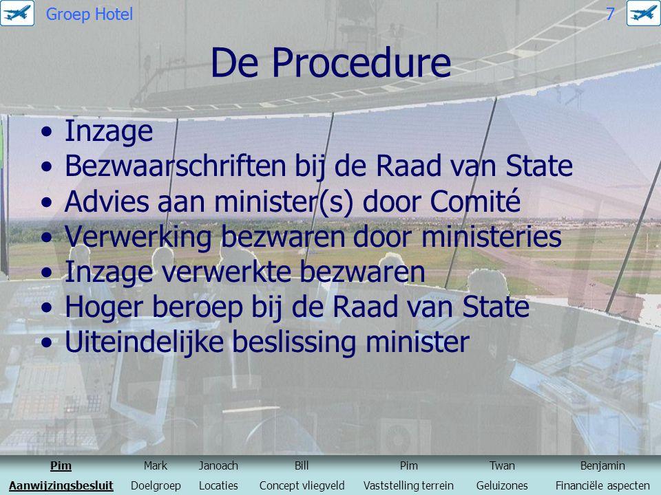 De Procedure Inzage Bezwaarschriften bij de Raad van State Advies aan minister(s) door Comité Verwerking bezwaren door ministeries Inzage verwerkte be