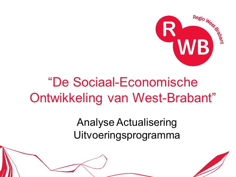 De Sociaal-Economische Ontwikkeling van West-Brabant Analyse Actualisering Uitvoeringsprogramma