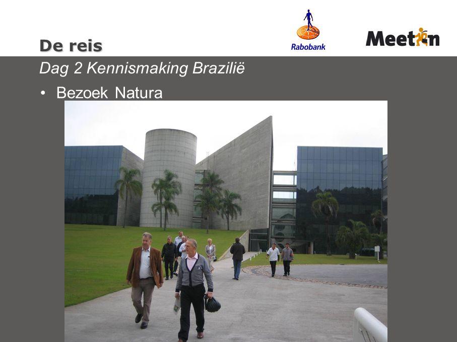 De reis De reis Dag 2 Kennismaking Brazilië Bezoek Natura
