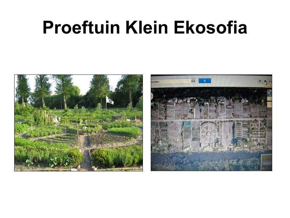 Een aanpasbaar model Moestuinvariant op 1 hectare Ekosofia Themapark op 3 hectare