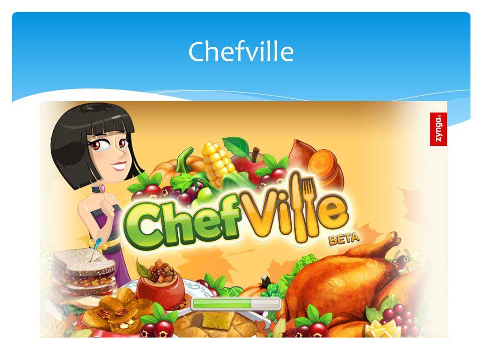 Chefville is een spel waarin je een kok speelt en een restaurant moet opbouwen.