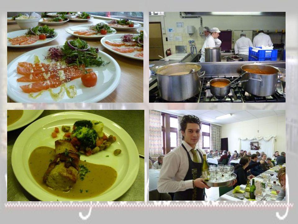 2e graad BSO Restaurant en Keuken 3e graad BSO Grootkeuken 7 e specialisatiejaar Gemeenschapsrestauratie