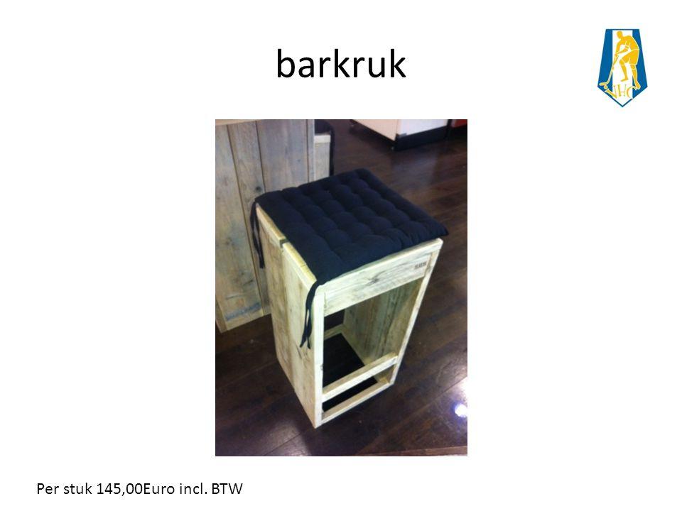 barkruk Per stuk 145,00Euro incl. BTW