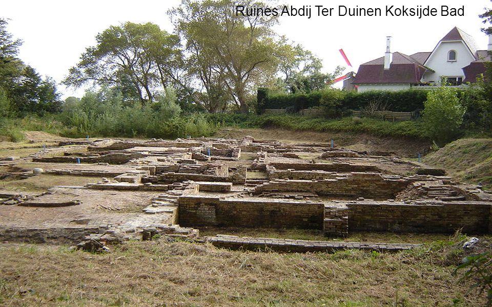 Ruines Abdij Ter Duinen Koksijde Bad