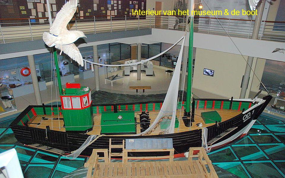 Visserboot voor het museum