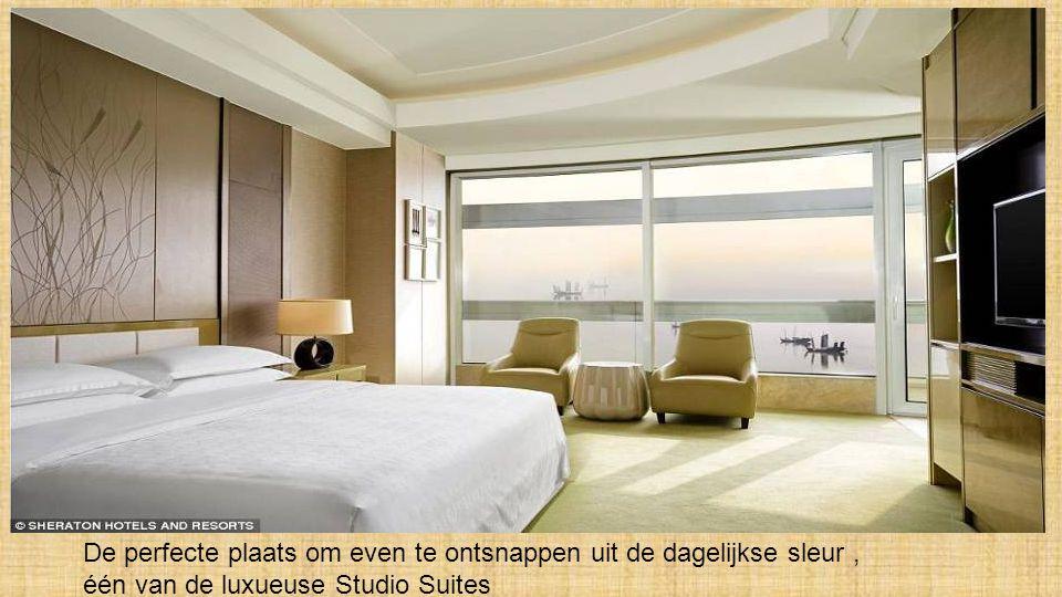 Eerste-klasse-comfort, mooie zithoek van het Sheraton hotel - Club Suites