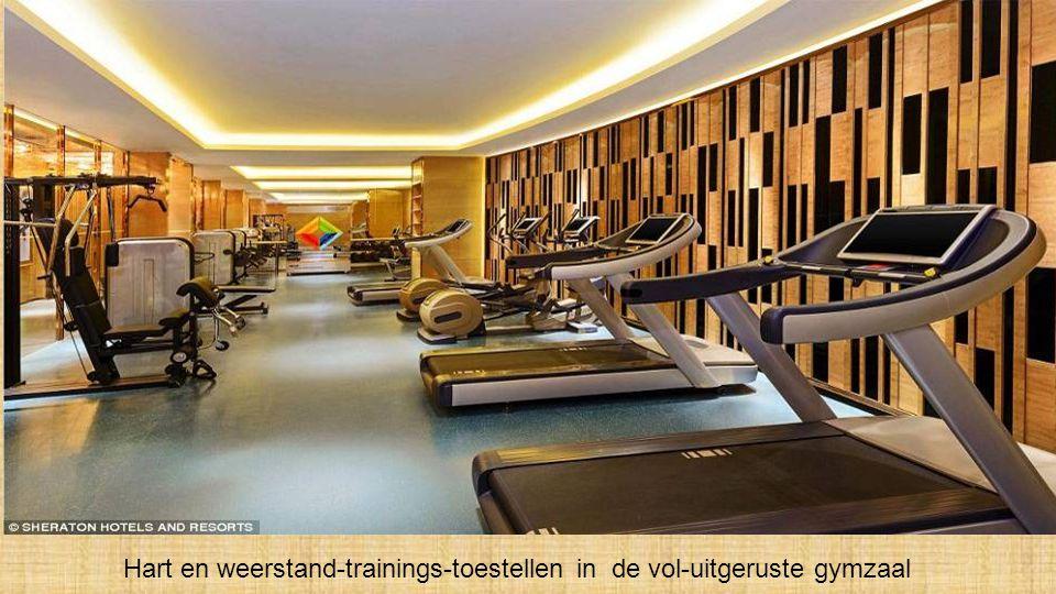 Een van de schoonheids-salons, voor massages & accupunctuur