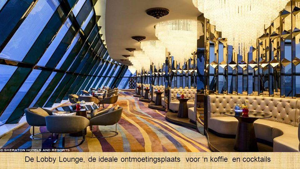 De Lobby Lounge, de ideale ontmoetingsplaats voor 'n koffie en cocktails