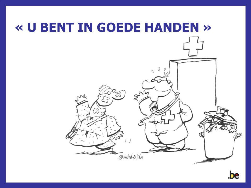 « U BENT IN GOEDE HANDEN »