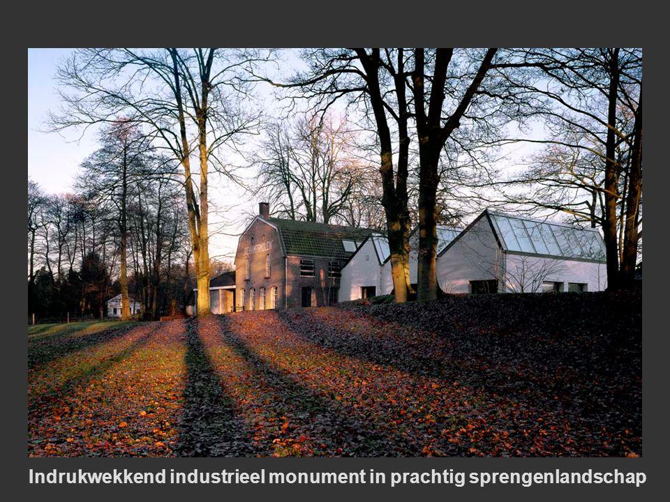 Indrukwekkend industrieel monument in prachtig sprengenlandschap