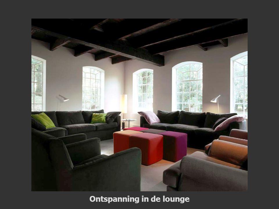 Ontspanning in de lounge