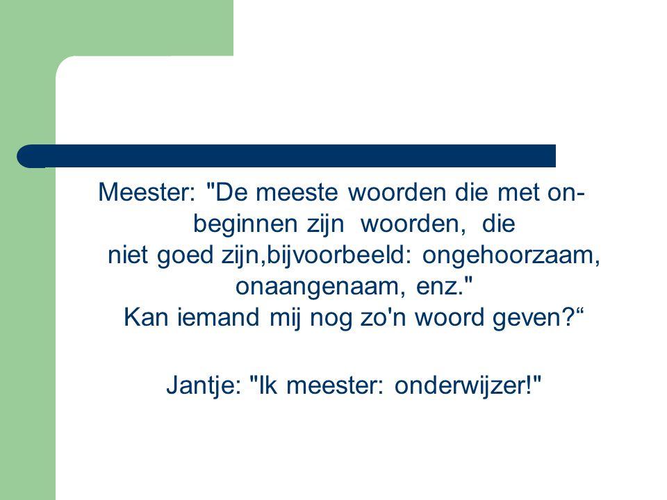 Meester:
