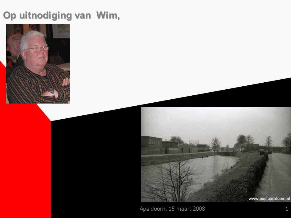 Apeldoorn, 15 maart 20081