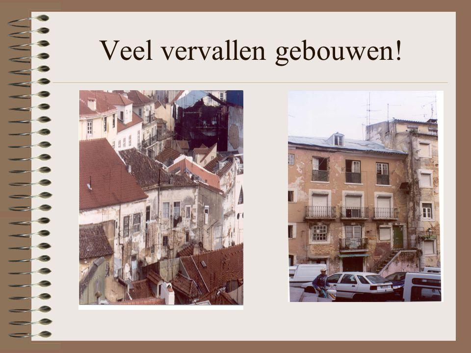 Veel vervallen gebouwen!