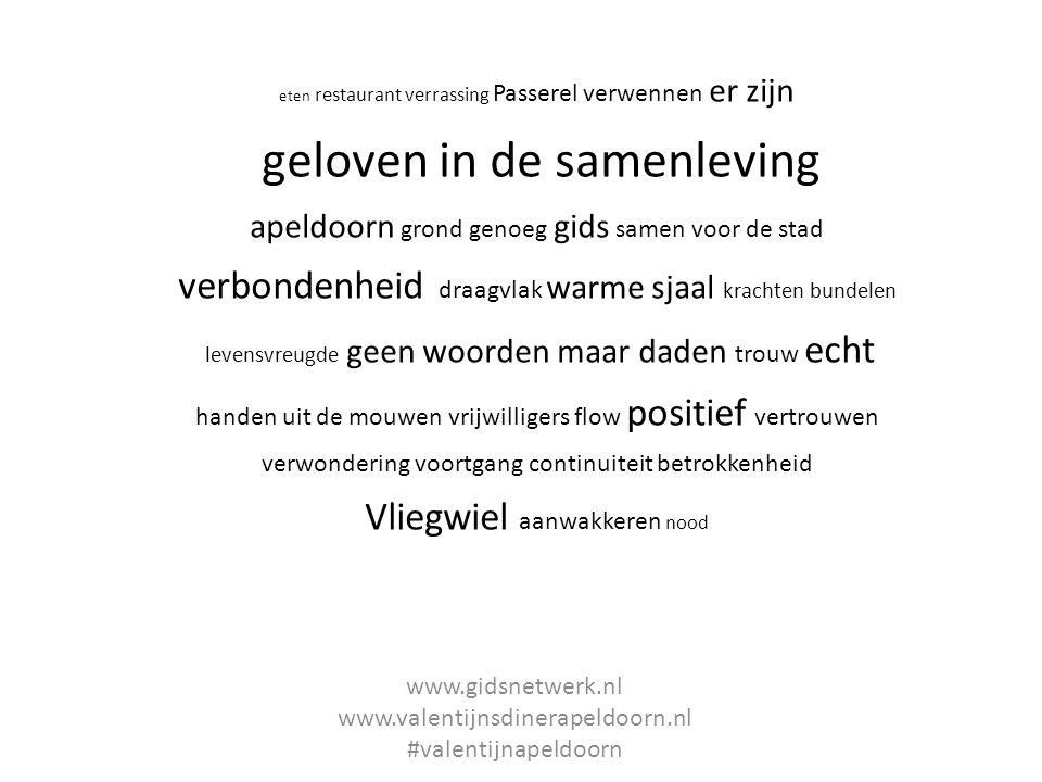 www.gidsnetwerk.nl www.valentijnsdinerapeldoorn.nl #valentijnapeldoorn
