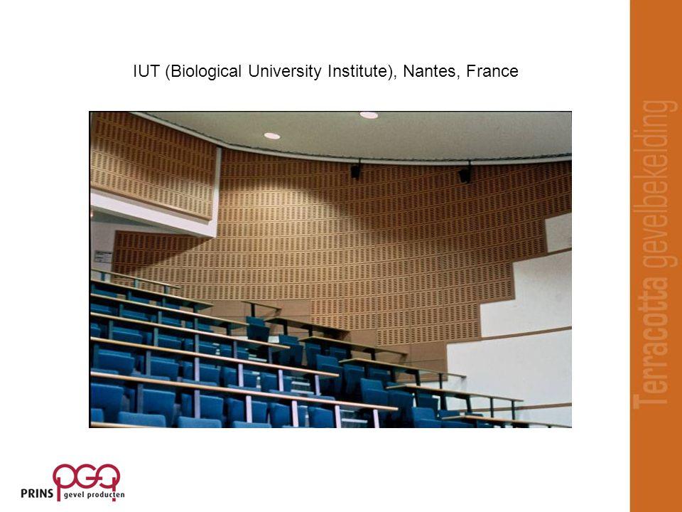 IUT (Biological University Institute), Nantes, France