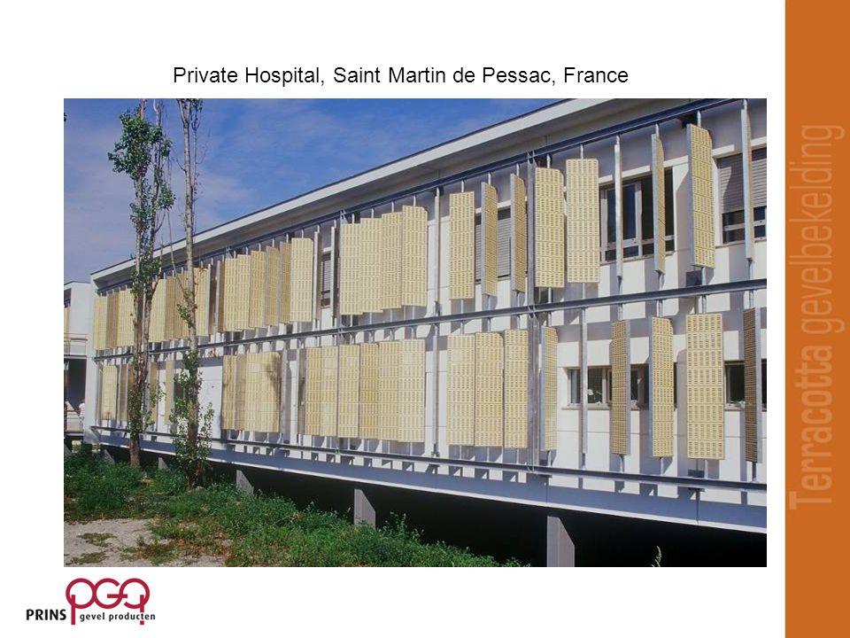 Private Hospital, Saint Martin de Pessac, France