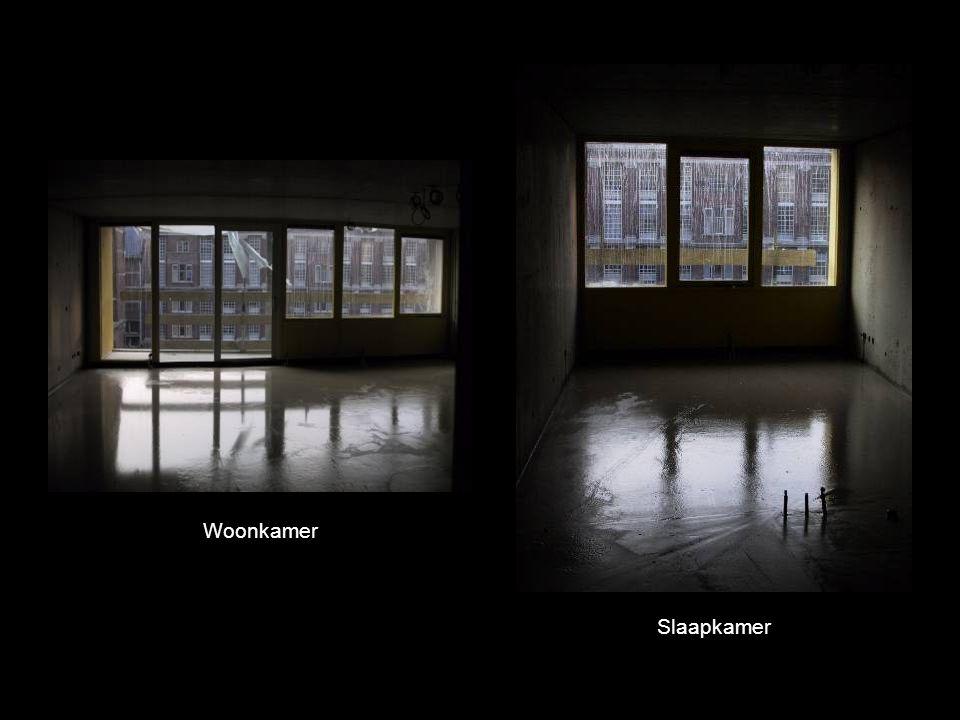 Woonkamer Slaapkamer