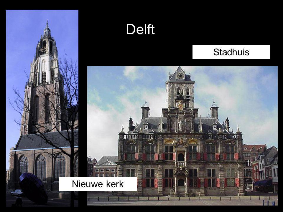 Delft Stadhuis Nieuwe kerk