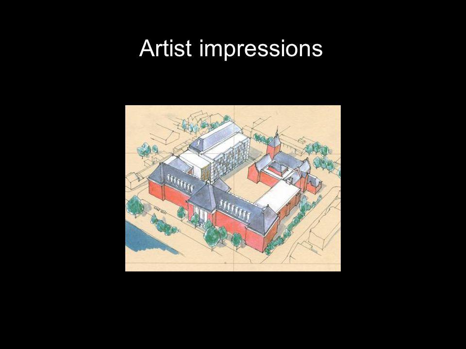Artist impressions