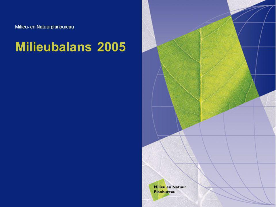 Milieubalans 2005 Milieu- en Natuurplanbureau