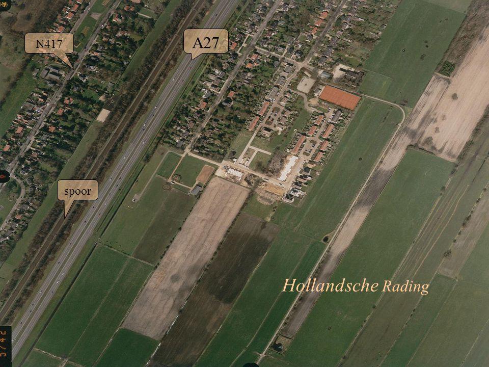 23 N417 spoor A27 Hollandsche Rading