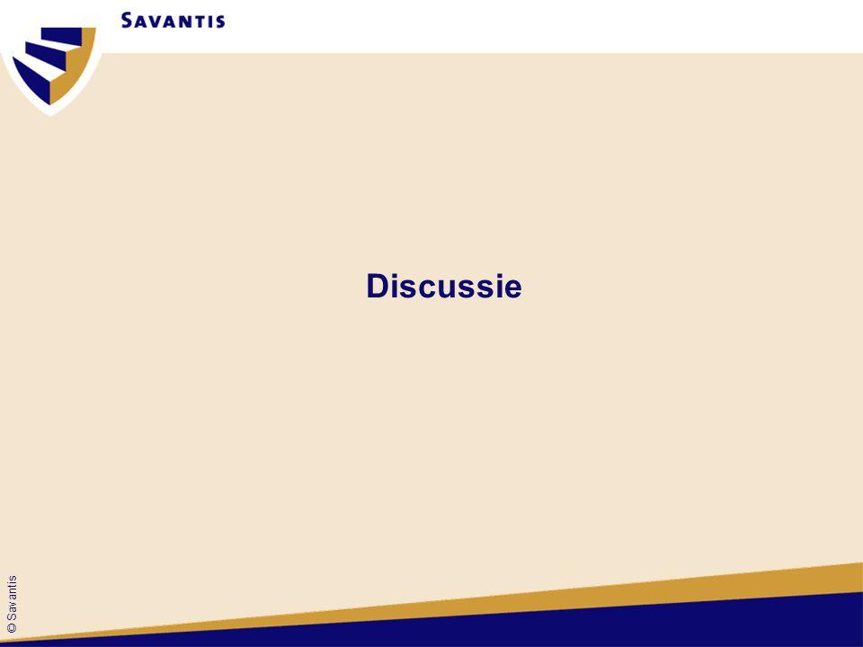 © Savantis Discussie