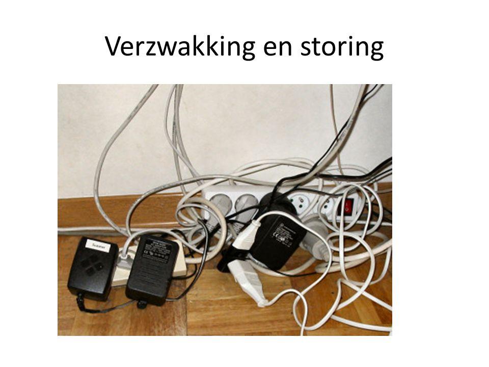Verzwakking en storing