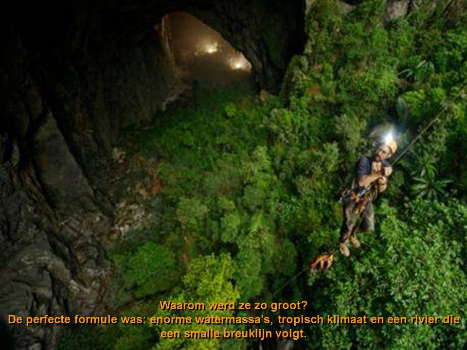 Met haar hoogte van 200 m en haar breedte van 150 m is deze nieuwe grot bijna twee keer groter dan de vroegere recordhouder, de Deer Cavern in Maleisi