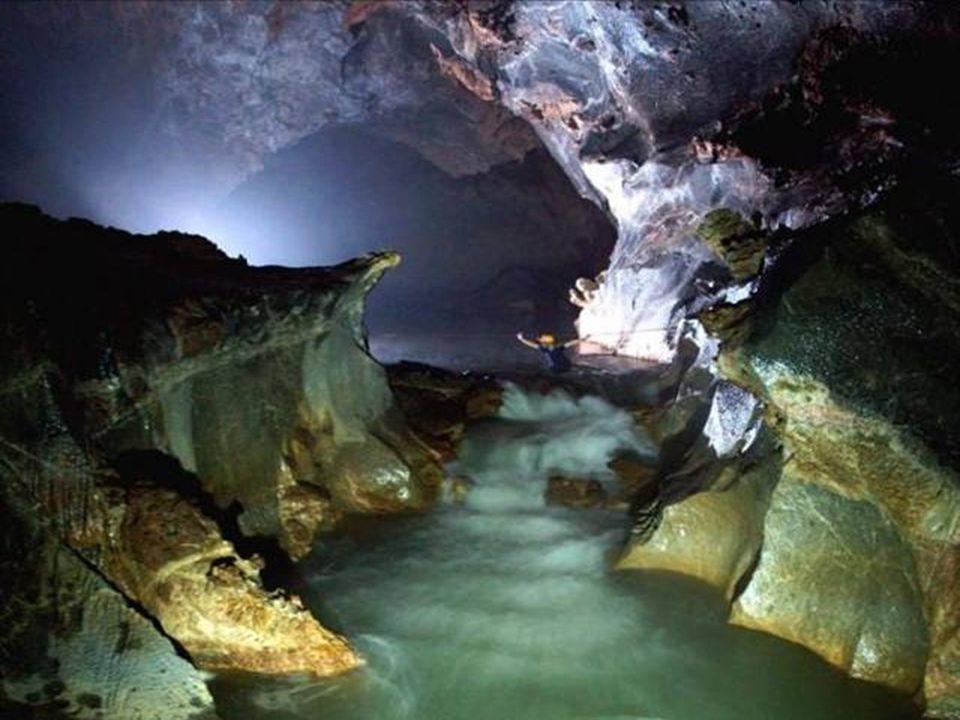 Na onderzoek van De Grote Muur van Vietnam stelden ze vast dat het grottensysteem daar eindigde.