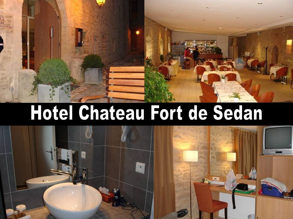 Hotel Château Fort de Sedan – onze kamer