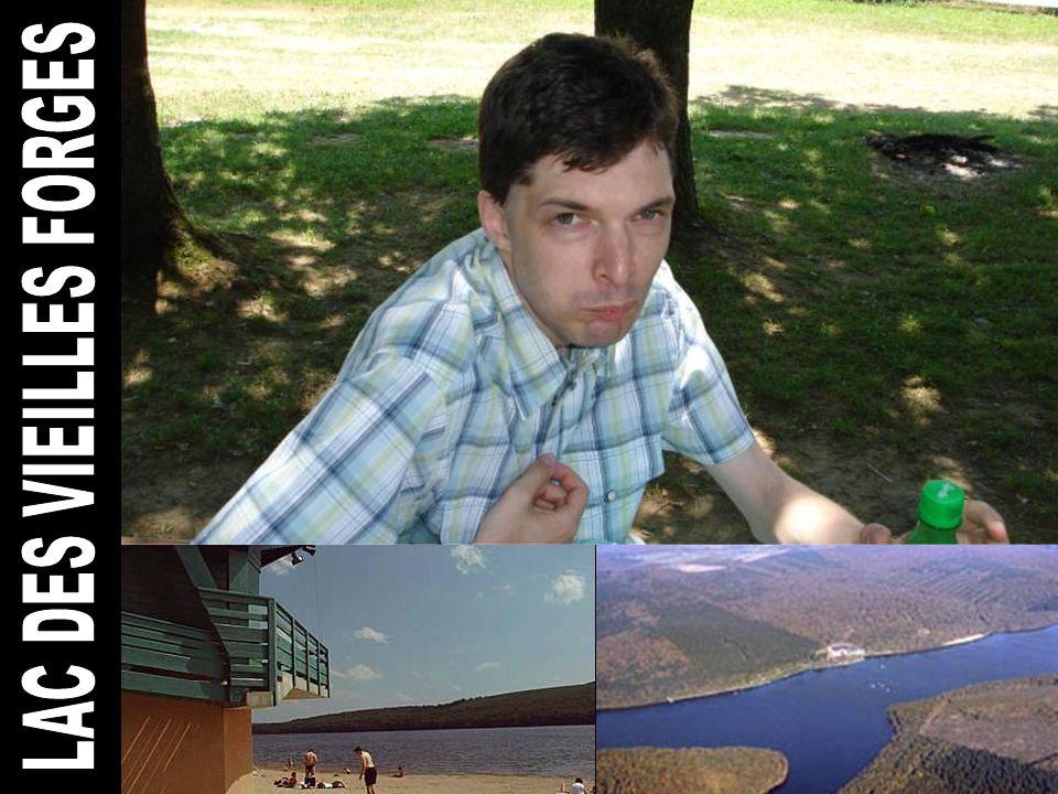 Tweede halte – Picknick aan het Lac des Vieilles Forges - Een recreatiemeer van 135 ha.