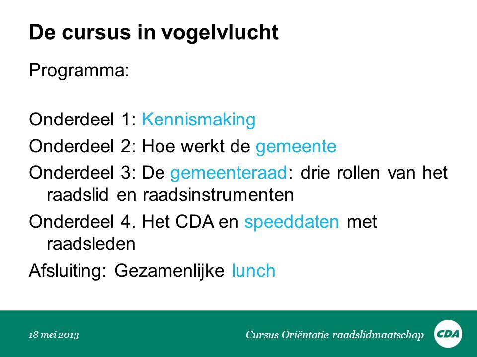 Geschiedenis CDA 12-7-2014 Cursus Ori ë ntatie raadslidmaatschap Dries van Agt is de eerste CDA-premier.