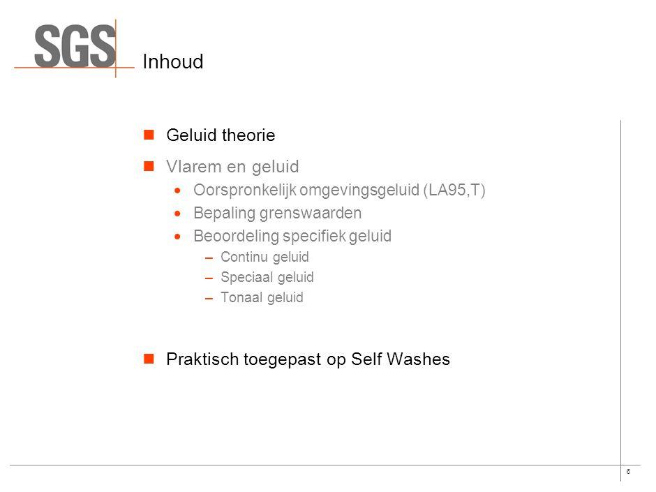 26 Bedrijfsduur correctieterm (rating) (niet voorzien in Vlarem) Een carwash heeft geen continu werkingsritme.