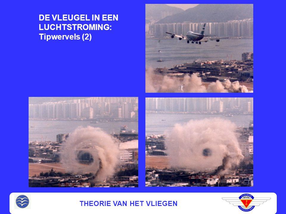 THEORIE VAN HET VLIEGEN DE VLEUGEL IN EEN LUCHTSTROMING: Tipwervels