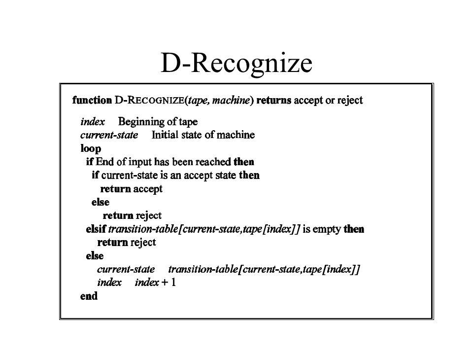 D-Recognize
