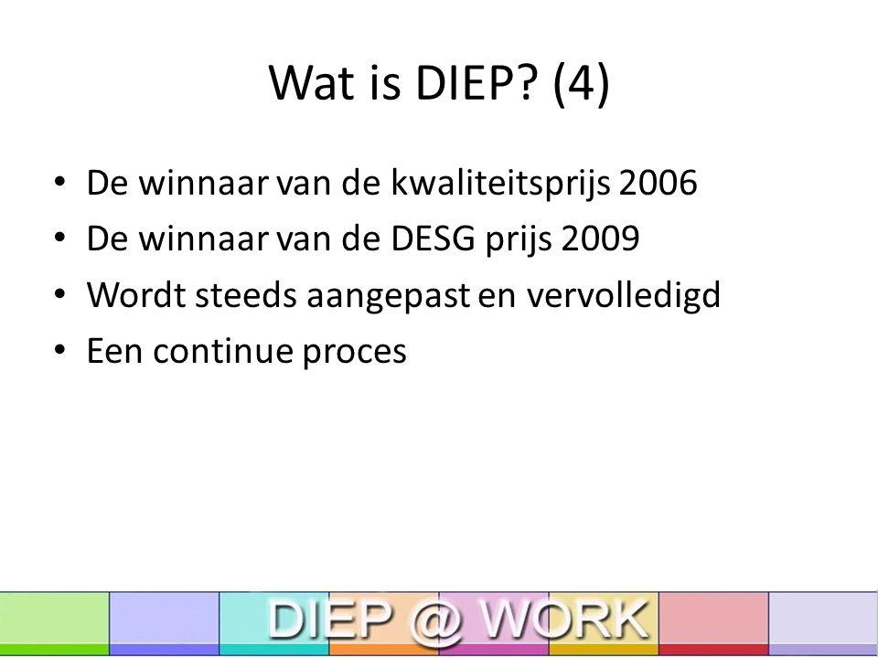 DIEP@work Wat is DIEP@work.