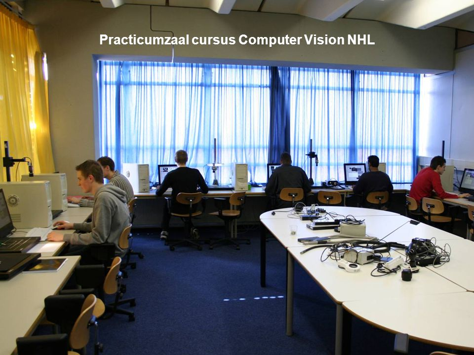 Practicumzaal cursus Computer Vision NHL