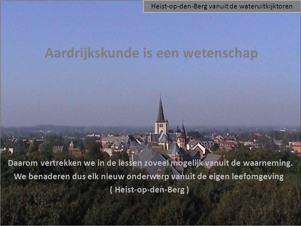 Nadien kunnen we elders in Vlaanderen, België of in de wereld gaan kijken en vergelijkingen maken met de landschappen uit de schoolomgeving.