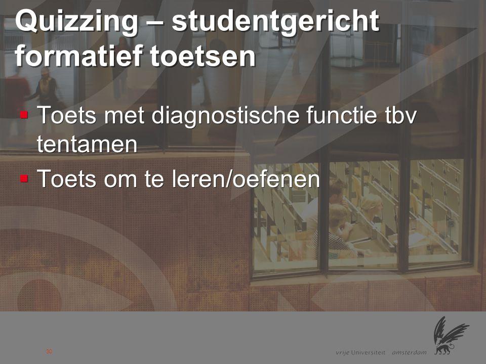 31 Voorbeeld 1: Peer instruction  ConceptTest  Ontwikkeld door Eric Mazur, Harvard University  ConceptTest  Ontwikkeld door Eric Mazur, Harvard University