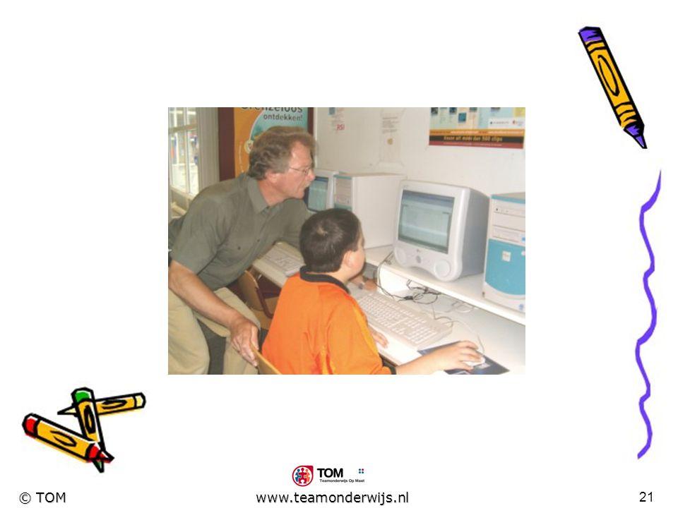 20 © TOM www.teamonderwijs.nl