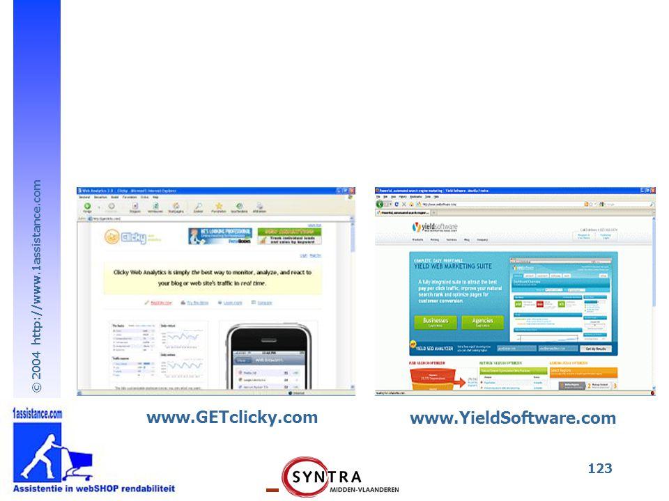 © 2004 http://www.1assistance.com 123 www.GETclicky.com www.YieldSoftware.com