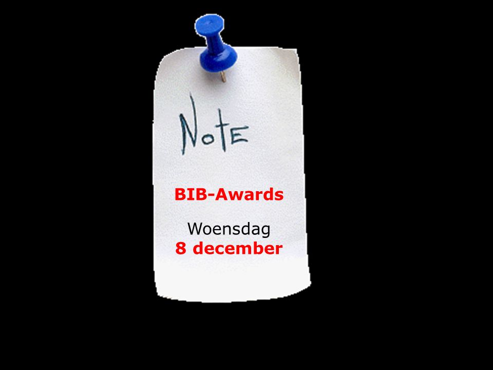 12/7/1415 BIB-Awards Woensdag 8 december