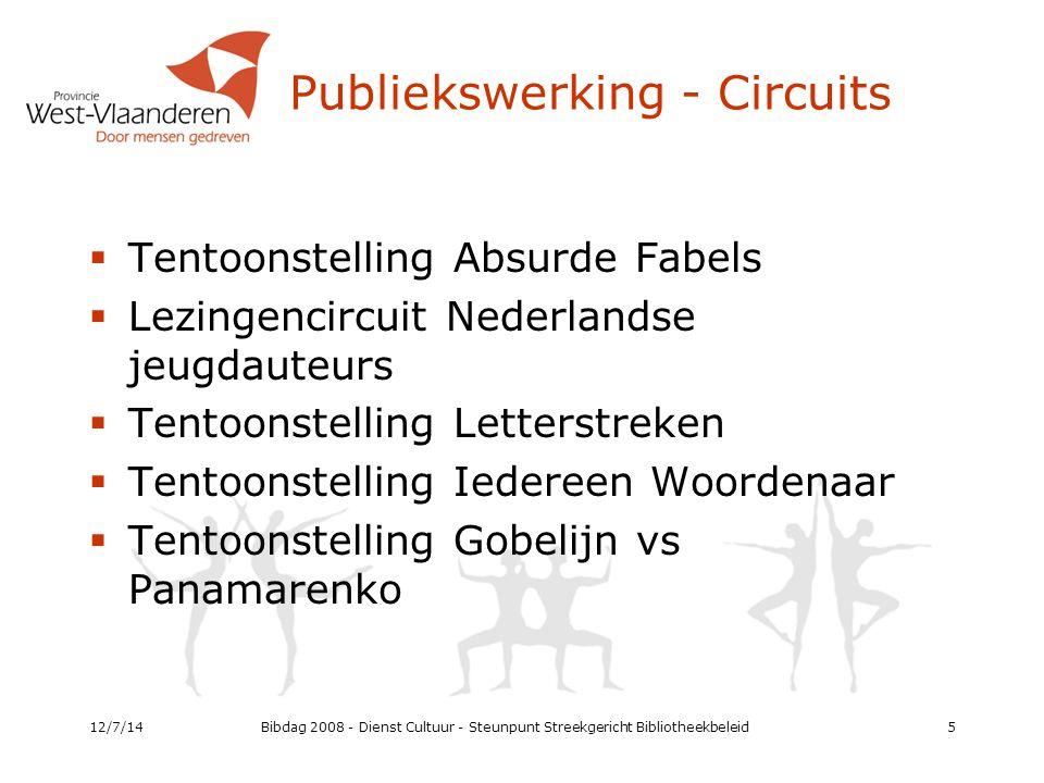 Bibliotheekmanagement Project Delphi 2010 – 2013: 2 nieuwe trajecten  Traject 2: Damme, Ichtegem, Diksmuide, Staden, Kortemark, Ingelmunster, Meulebeke  Traject 3: regio 13 12/7/1426
