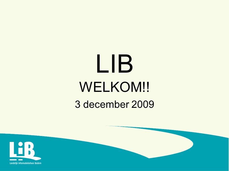 LIB WELKOM!! 3 december 2009