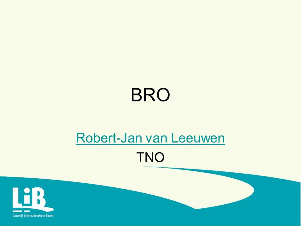 BRO Robert-Jan van Leeuwen TNO